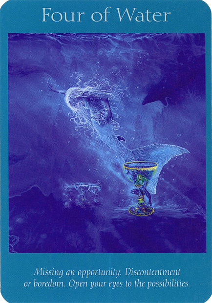 Angel Card Reading For Week Of 12/16/12 • Four Of Water